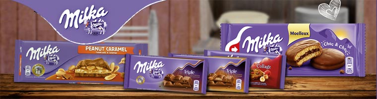 Milka chocolate alpen milk