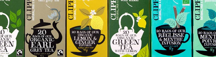 clipper tea products