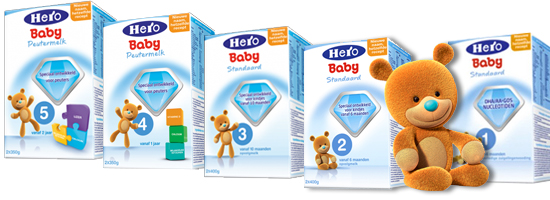 hero baby milk powder
