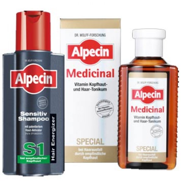 Alpecin hair products