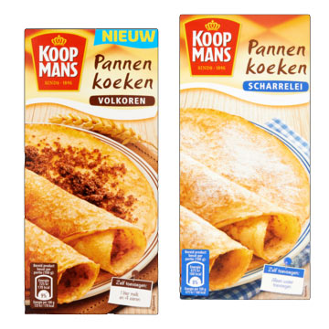 Dutch pancakes mixes