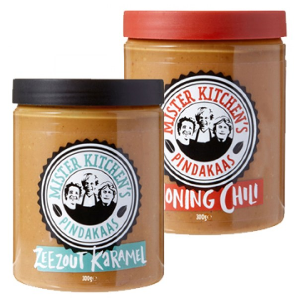 Mister Kitchens Peanut butter flavours