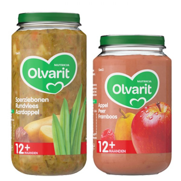 Olvarit baby food 12 month