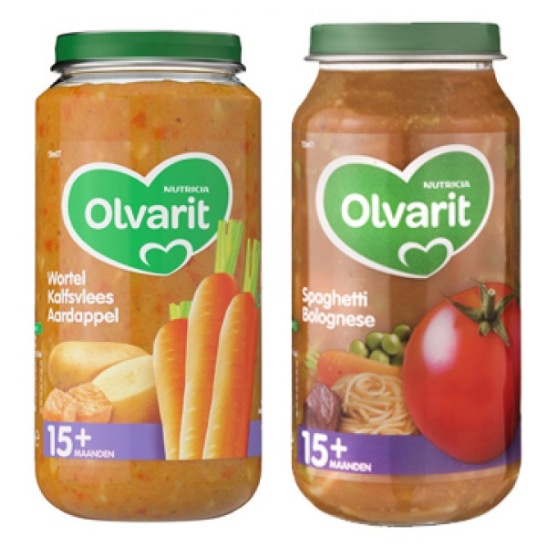 Olvarit baby food 15 month