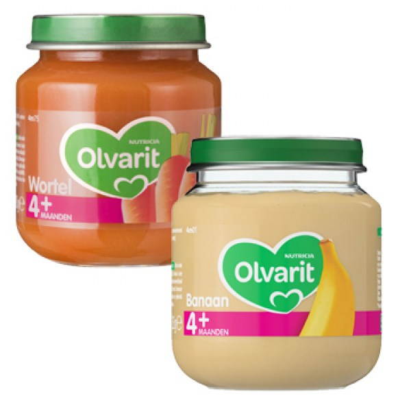 Olvarit baby food 4 month