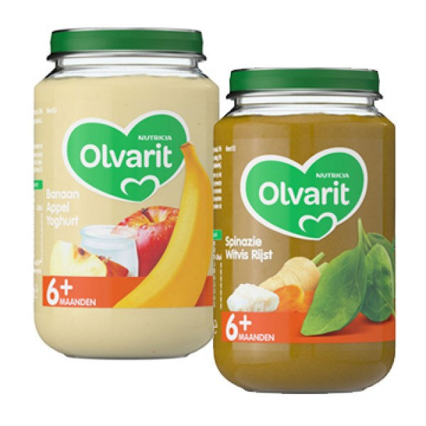 Olvarit Baby food for babies age of 6 months