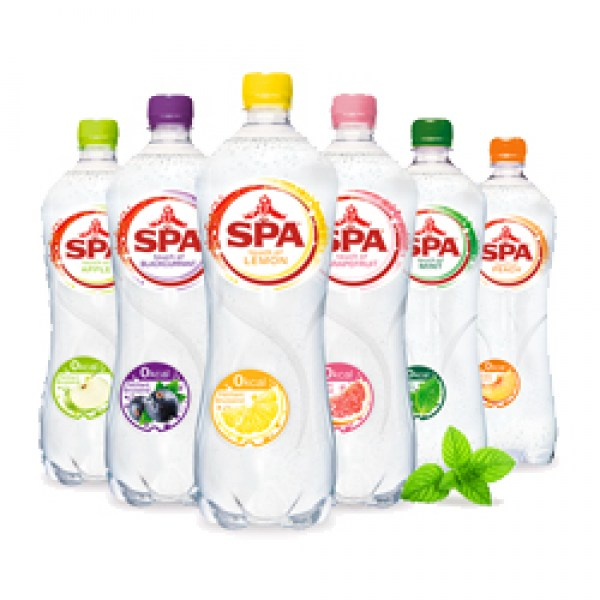Spa Mineral Water with touch of flavour