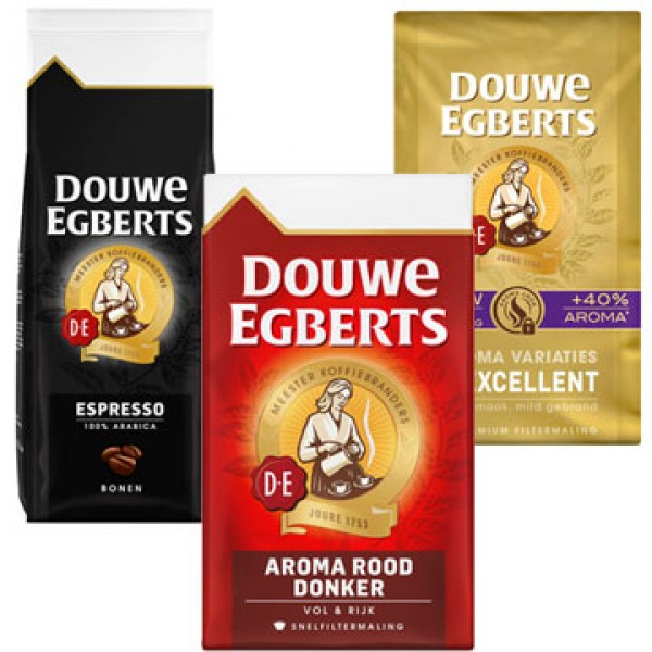 Douwe Egberts coffee products