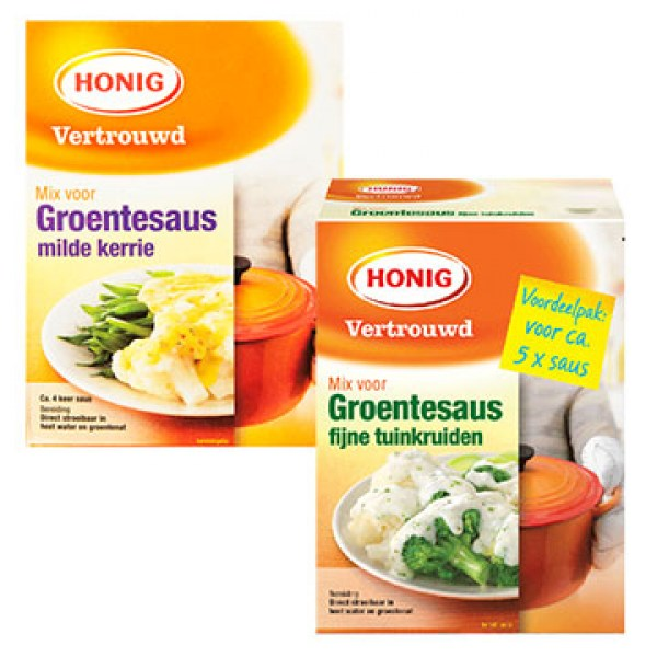 Honig ingredients dutch dish