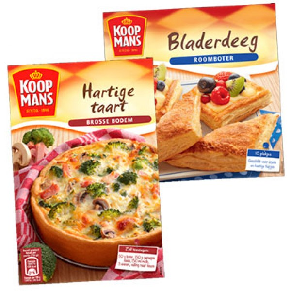 KOOPMANS QUICHE / PIZZA mix