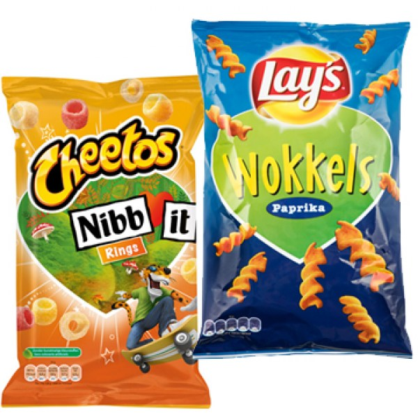 Nibb it Chips and Lays Wokkels