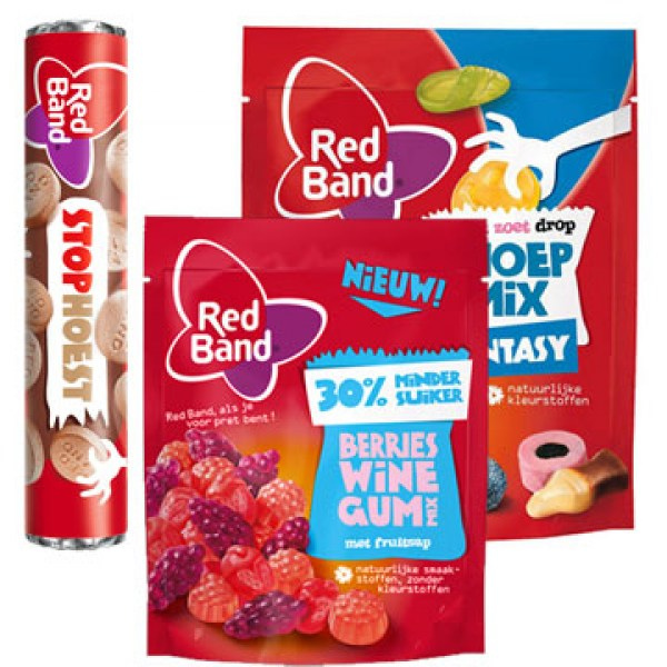 Red Band fruit Licorice Candy