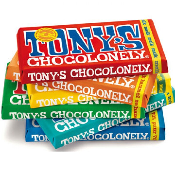 Tony's Chocolonely Fairtrade Chocolate