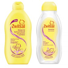 Zwitsal baby Bath products