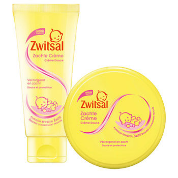 Zwitsal cream products for baby skin