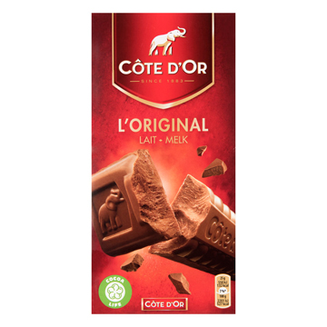 Côte Dor Tablet Melk