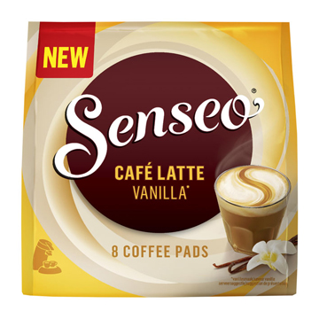 Senseo Cafe latte vanille 8 cups