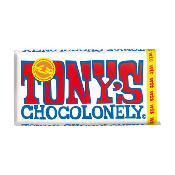 Tonys Chocolonely White Chocolate 180g