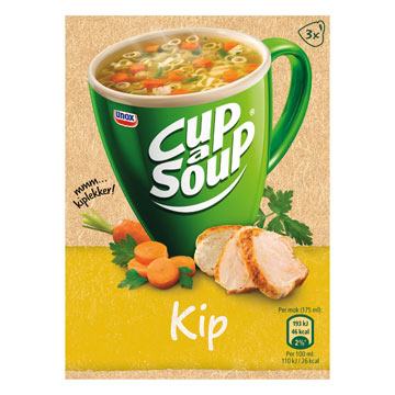 Unox Cup a soup chicken 3 bags