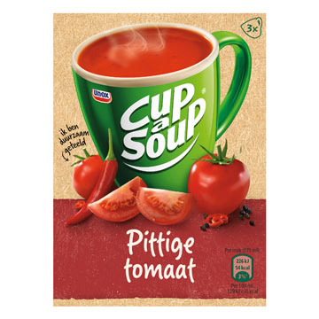 Unox Cup-a-soup spicy tomato 3bags