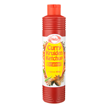 Hela Curry ketchup original 800ml - Hollandforyou