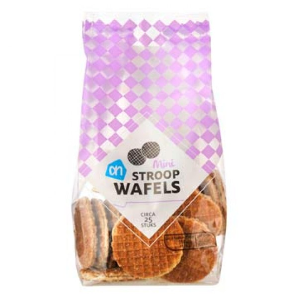 AH Roomboter stroopwafels mini 200g  ( Mini Syrup waffles )