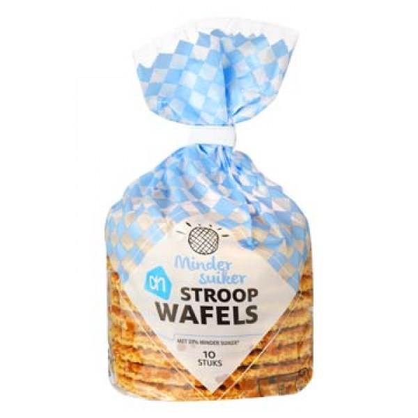 AH Stroopwafels 33% less sugar