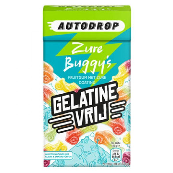 Autodrop Sour buggy-candy-mix-gelatin free 280g