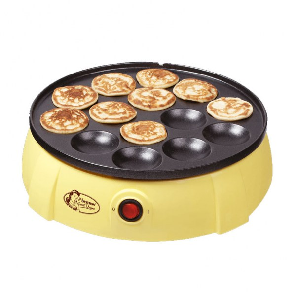 Electric pancake pan ( Make Dutch poffertjes )