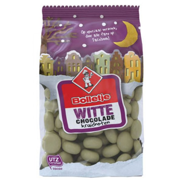 Bolletje white chocolate pepernoten 310g