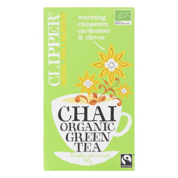 Clipper Organic green tea Chai 20pcs