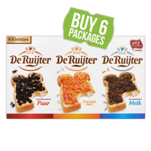 de Ruijter Mini Mix 8 choclate flavours