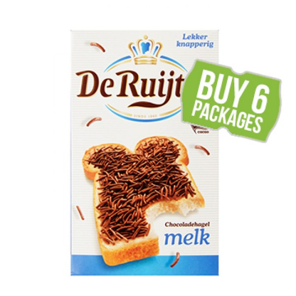 de ruijter milk chocolate sprinkles