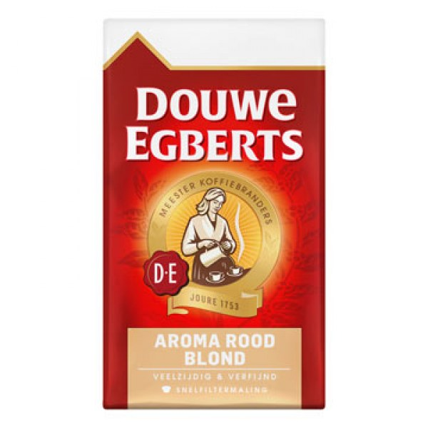 Douwe Egberts Aroma rood blond filter koffie 250g