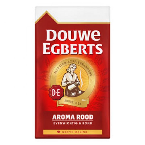 Douwe Egberts Aroma rood grove maling filter koffie 250g