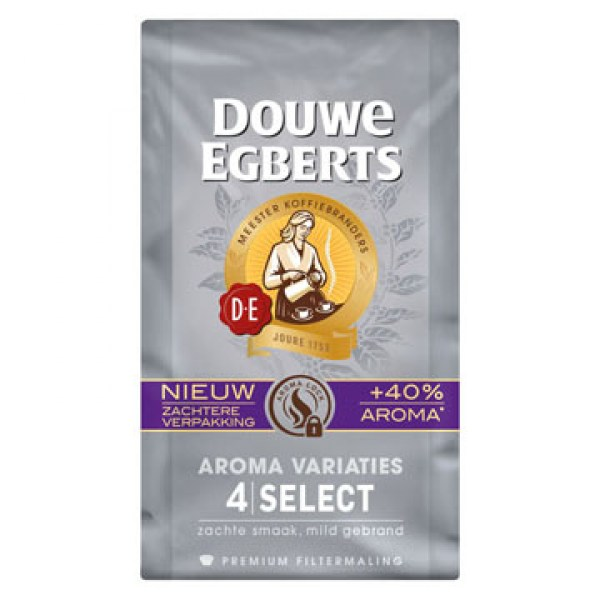 Douwe Egberts Select 4 filter koffie 250g