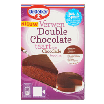 Dr Oetker Verwen double chocolate cake