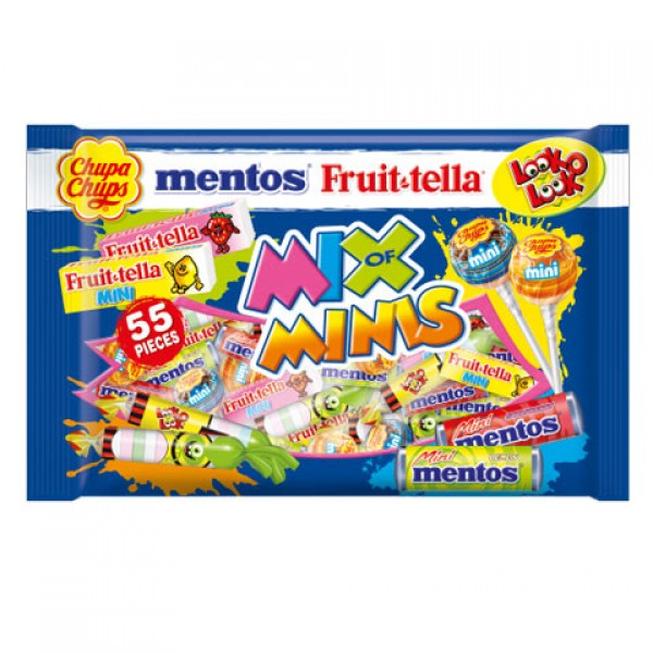 Fruittella Chupa Chups Mentos Look-O-Look Mix 508g