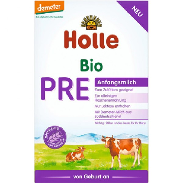Holle Bio Anfangsmilch Pre 400g