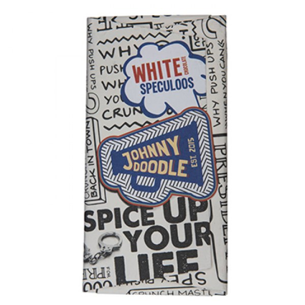 Johnny Doodle White chocolate speculoos 180g