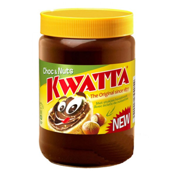 Kwatta Paste chocolate with nuts 400g