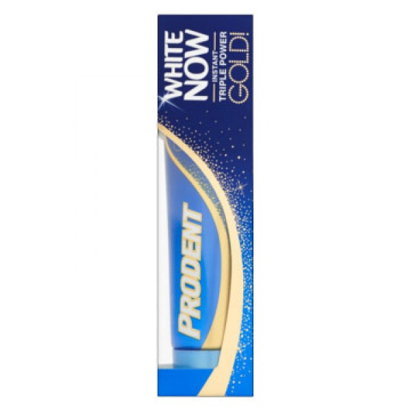 Prodent White Now Instant Triple Power Gold Tandpasta 75ml