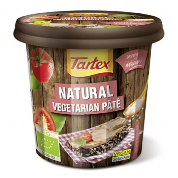 Tartex Vegetarian Pate Natural 125g Bio