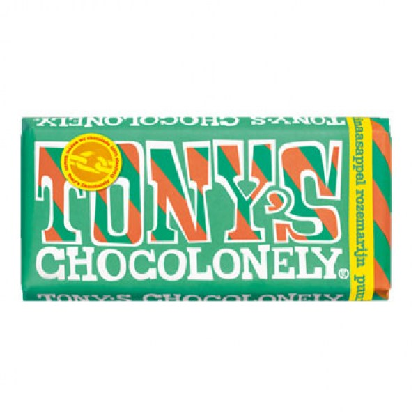 Tony chocolonely puur orange rozemarijn