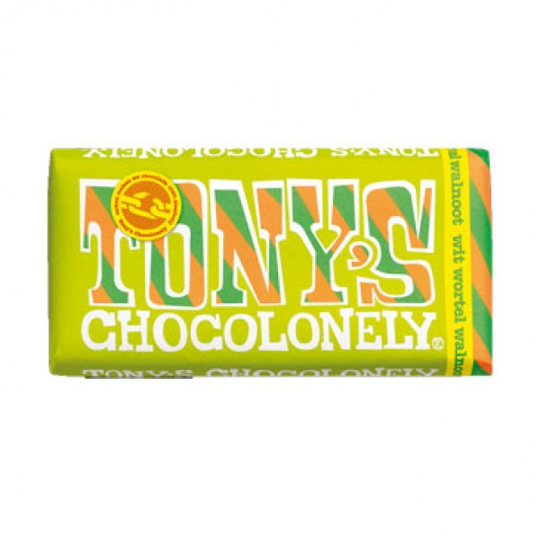Tony chocolonely white carrot walnut