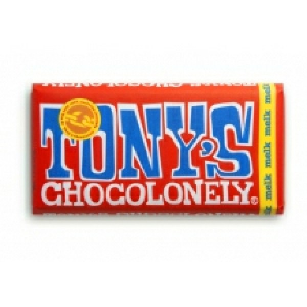 Tony's Chocolonely Milk chocolate bar (100% slave free chocolate)