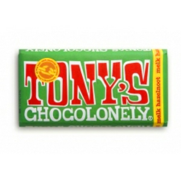 Tony's chocolonely Hazelnut chocolate bar