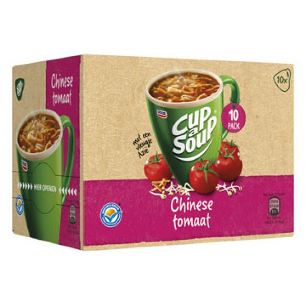 Unox Cup a soup Chinese tomato 10 bags