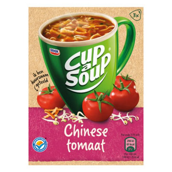 Unox Cup a soup Chinese tomato 3bags
