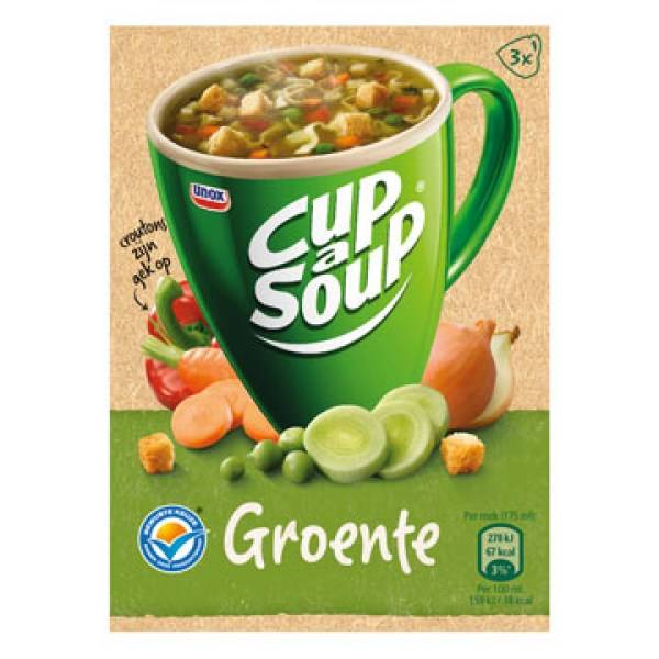 Unox Cup a soup vegetable 3 bags